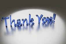 Bedankt, Dankbaarheid, Handschrift, Waardering