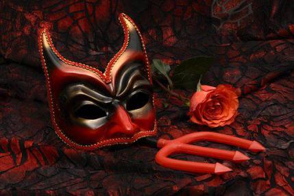 Mask, Hell, Devil, Evil, Satan, Bad Karma, Afterlife