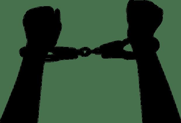 Arms Arrest Crime Criminal Handcuffs Hands