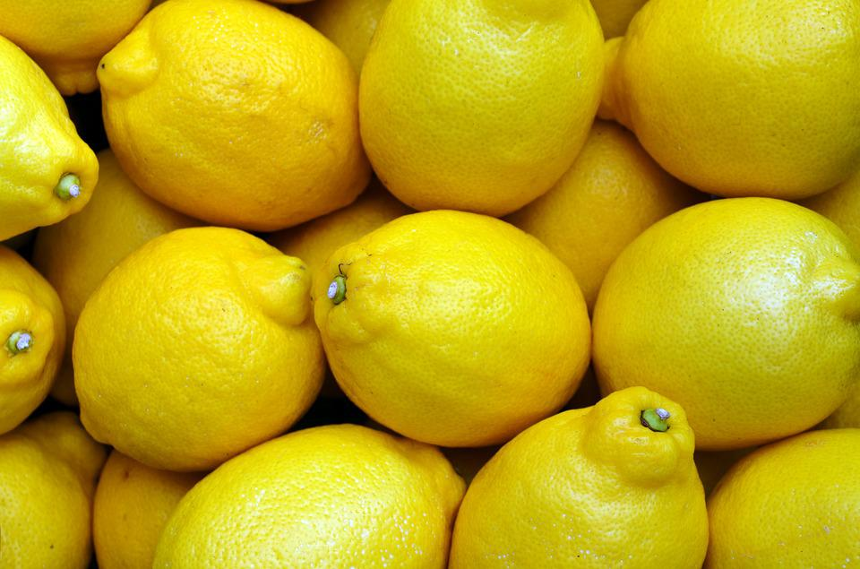 Free Photo Lemons Yellow Food Fruit Fresh Free