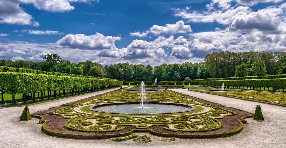 Jardín, Parque, Castillo, El Arte, Horticultura