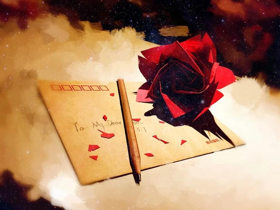 Scrisoare, Scrisori De Dragoste, Trandafiri, Manual