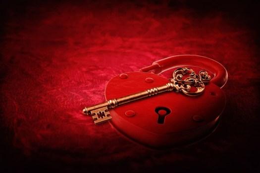 Cuore Blocco, Chiave, Giorno Di San Valentino