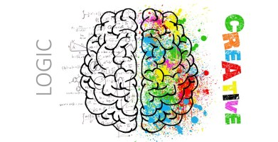 Brain, Mind, Psychology, Idea, Hearts, Love, Drawing