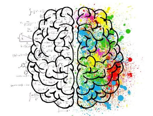 Cervello, Mente, Psicologia, Idea, Disegno