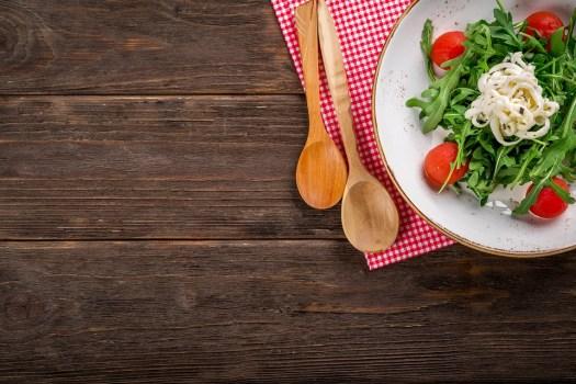 Insalata, Cibo, Italiano, Saporito, Di Legno, Cucina