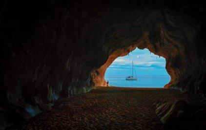 Grotta, Vacanza, Sardegna, Memoria