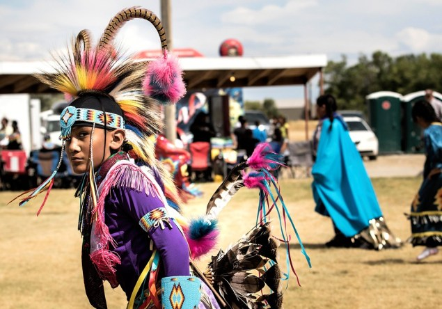 Американский Индеец, Арапахо, Пау Вау, Головной Убор