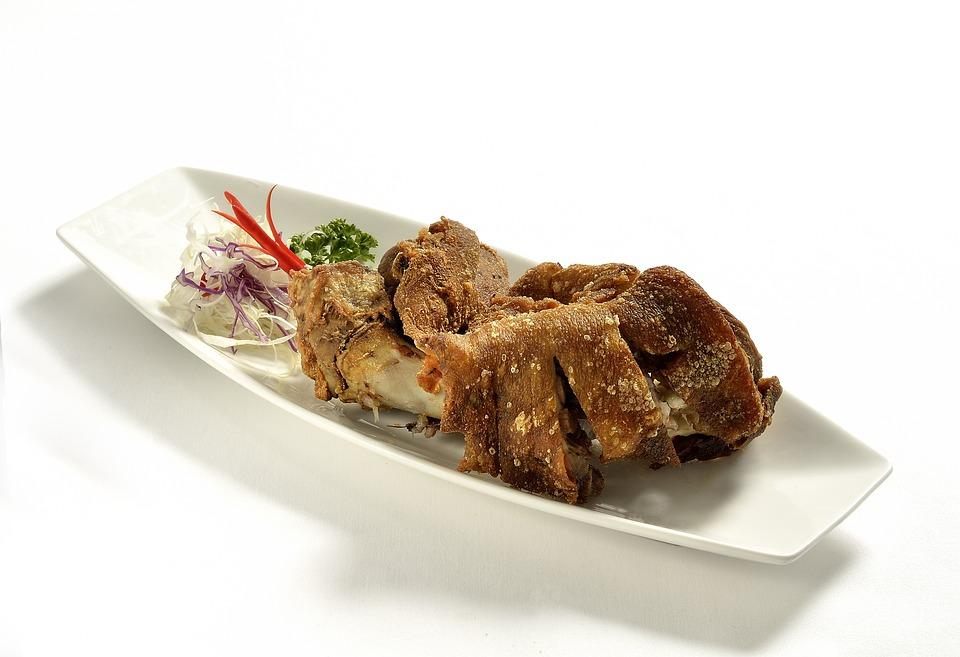 Crispy Pata, Pork, Exotic, Food, Philippines, Meat
