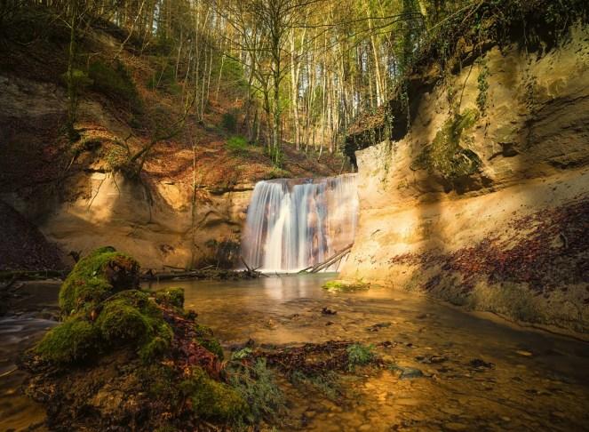 Cachoeira, Fundo, Tela, Natureza, Água