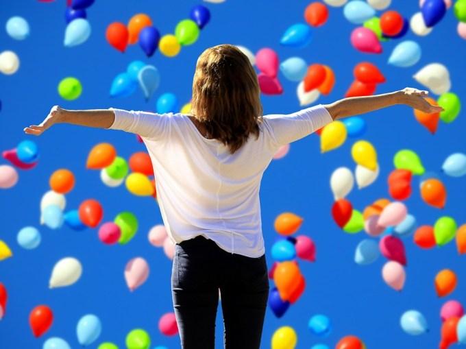 ライブに Yes と言う, 喜び, 生命の欲望, Frohsinn, 満足度, 自信, 幸福, 人生の喜び