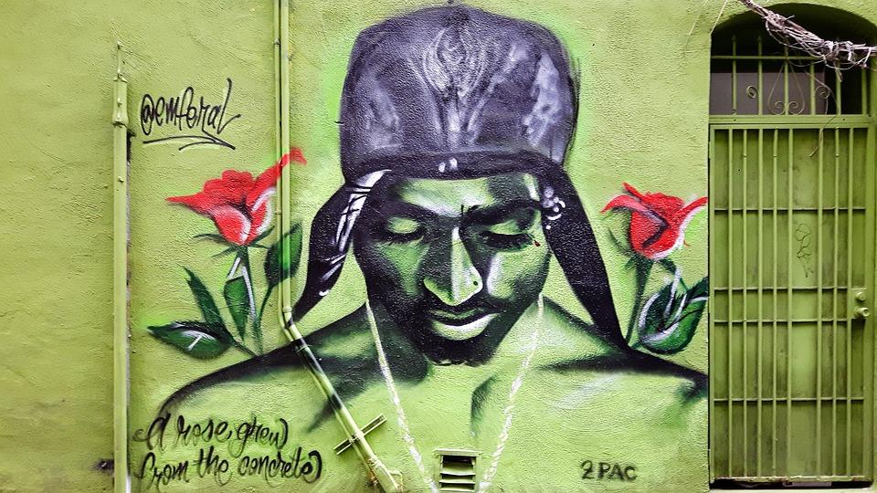 Foto Gratis Graffiti Testa Faccia Spray Immagine