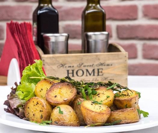 Patate Al Forno, Gourmet, Garlick Salsa, Cibo, Cena