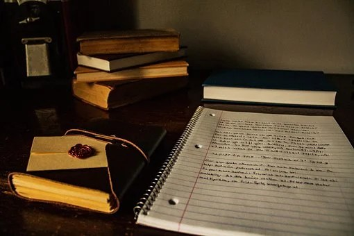 Desk, Books, Writing, Table, Education
