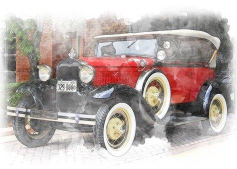 Vintage Car, Classic Automobile, Style