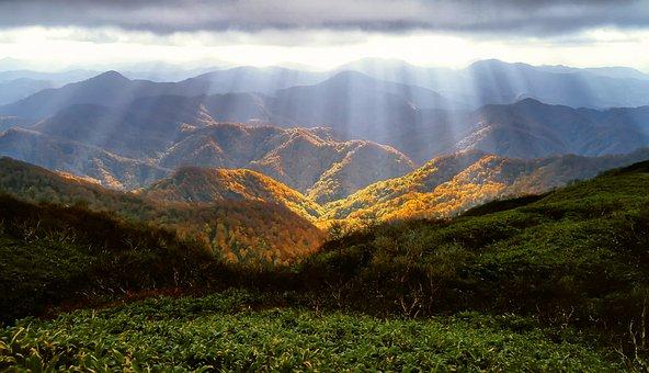 Herbst, Berge, Glanz