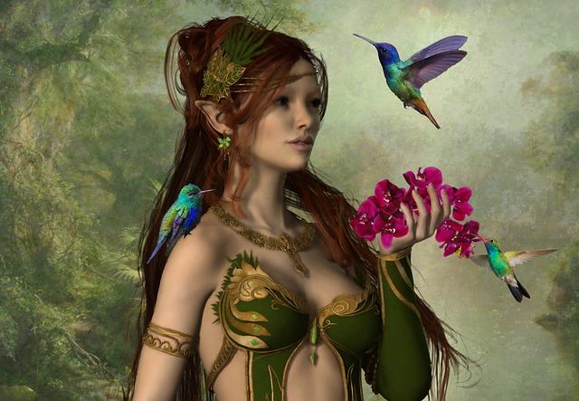 Fairy Elf Digital Art Free Image On Pixabay