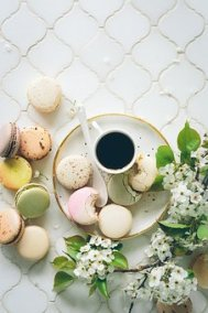Brunch, Macaroons, Tea, Biscuits