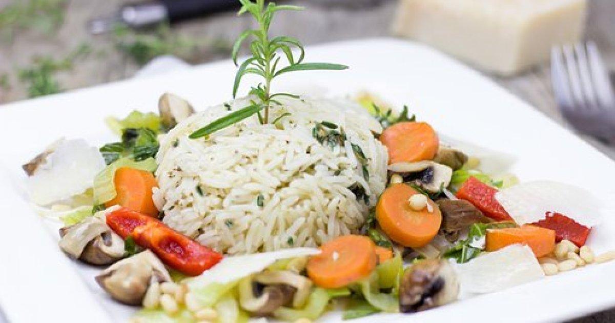 Rice, Vegetables, Herbs, Vegetarian, Ways to get more Antioxidants into your Diet