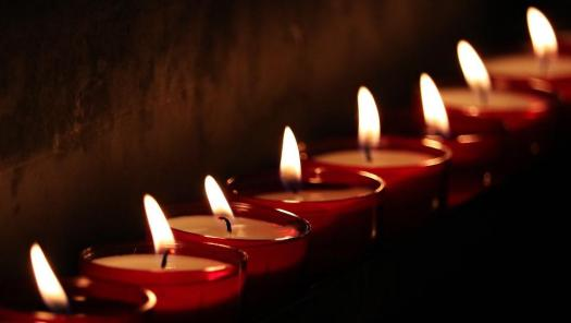 Luci Di Tè, Candele, Luce, Preghiera, Lume Di Candela