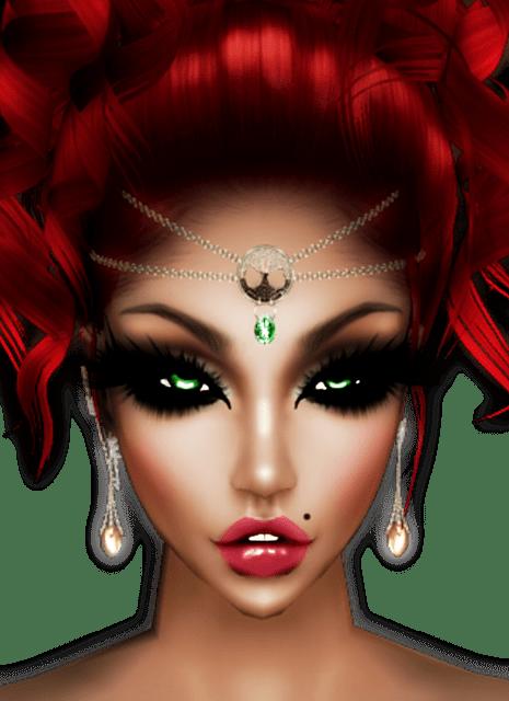 Kostenlose Illustration Imvu Avatar Rothaarige