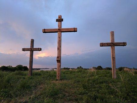 Cross, Easter, Crosses, Easter Sunday