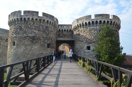 Belgrade Kalemegdan Serbia Fortress Archit