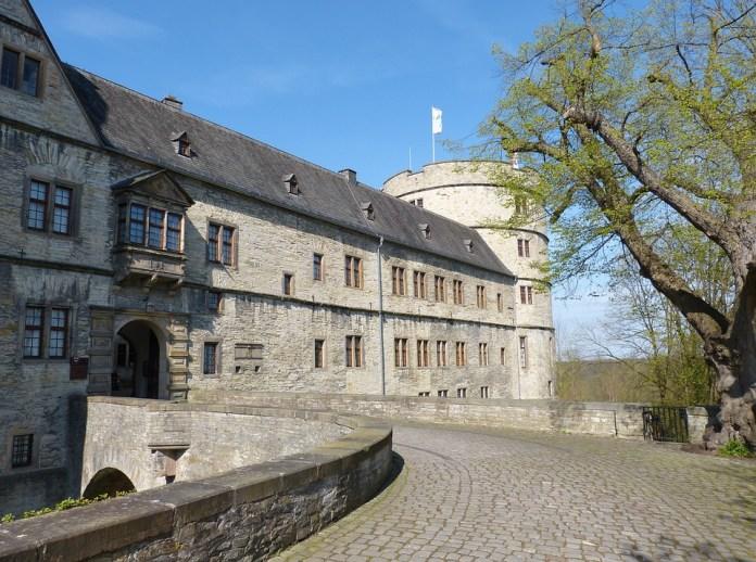 Wewelsburg, Nrw, Vestfálsko, Zámok, Historicky