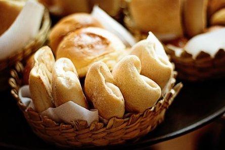 焼いた, パン, ロール, 新鮮な, 健康, 酵母, 自家製, 食品