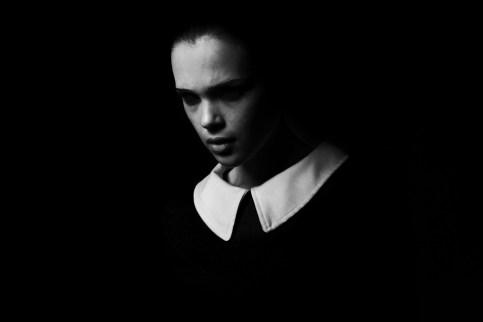 ファッション, 肖像画, 黒と白, 暗い, 悪, カラー, ホワイト, ひどい, 若い女性, モデル, 人間