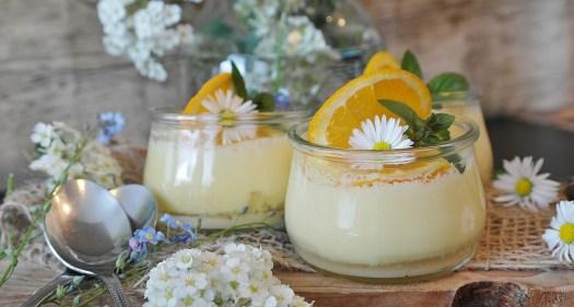 Crema, Crema All'Arancia, Arance, Dessert, Piatto Dolce