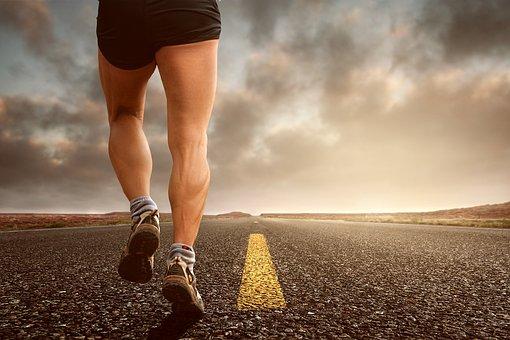 Jogging, Ejecutar, Deporte, Quiebro