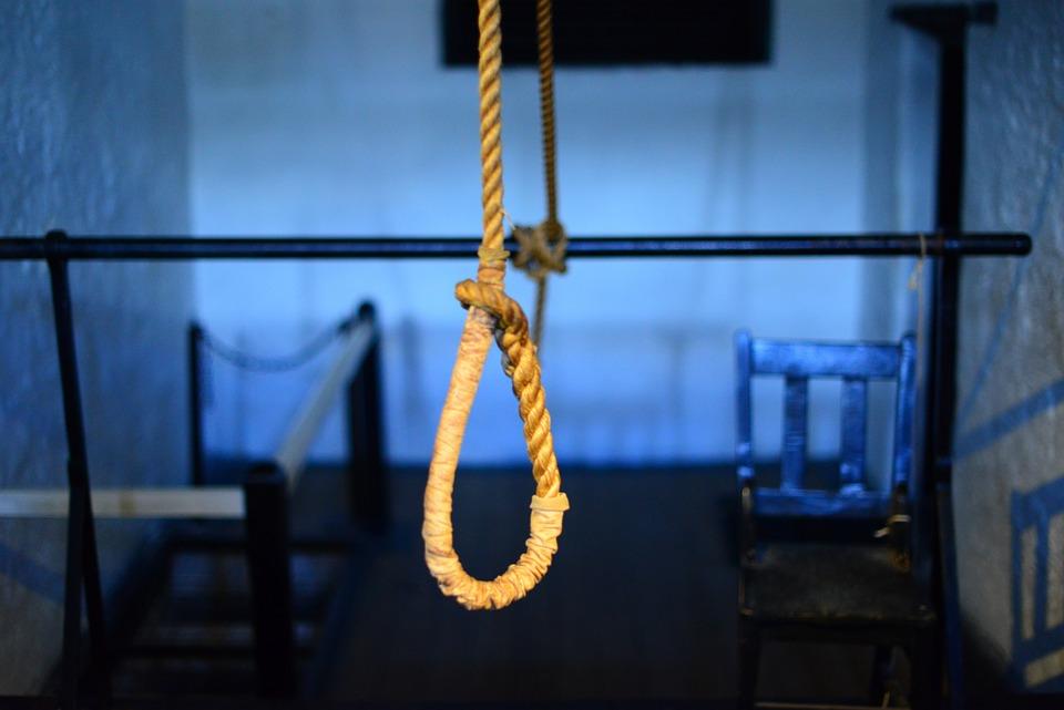 Αυτοκτονίας, Θηλιά Δήμιος, Θάνατο, Εκτέλεση, Κόμπο