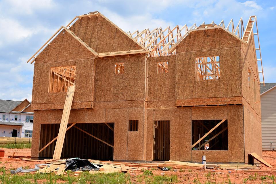 Rumah Baru, Rumah, Konstruksi, Baru, Perkebunan