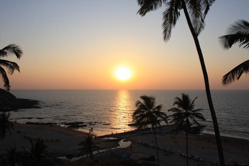 Goa, India, Beach, Sunset
