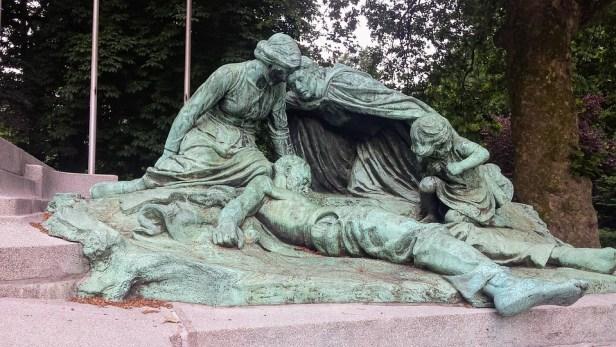 Antwerp, City Park, War, Belgium, Remembrance Day