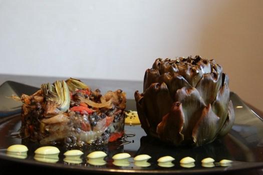 Carciofi, Piatto, Lenticchie, Cucina