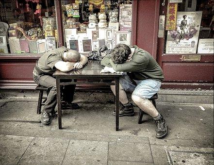 媚眼, 睡眠, 暂停, 沉睡中, 工人, 工作, 午休, 国家行动方案, 累了