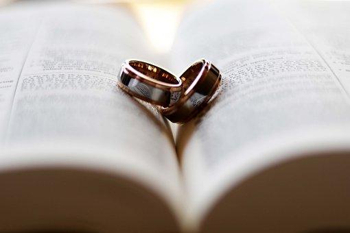 Ring, Wedding, Love, Bible, Wed