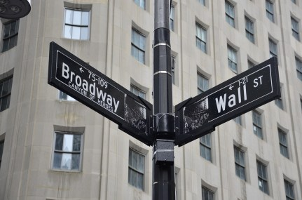 New York, Broadway, Wall Street, Manhattan