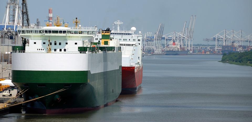 Freighter, Cargo, Ship, Transport, Transportation