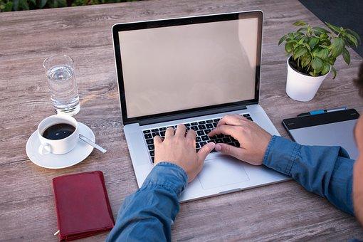 ホーム オフィス, プログラミング, プログラマ, ノート パソコン