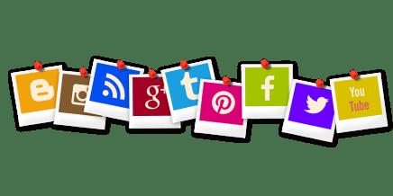 Icône, Polaroid, Blogger, Rss, Tumbir, App, Vous Tube