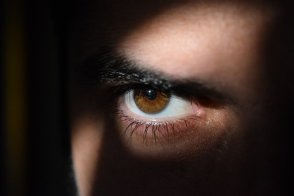 Eye, Eyes, Dark, Watching, Observing