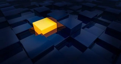 Cubes, Choice, One, Yellow, Light