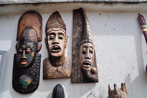 Wooden Mask, Art, Mask, Wooden