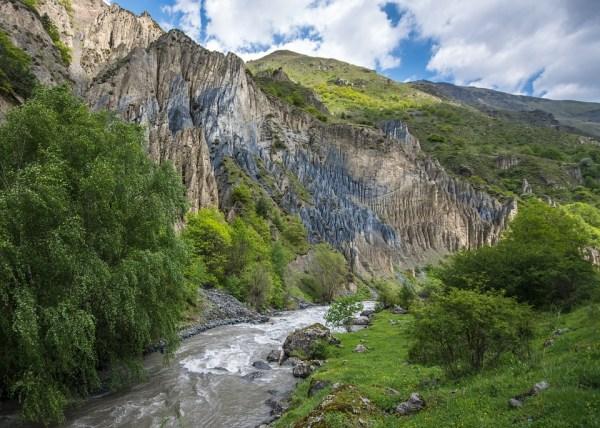 Грузия Кавказ Долина 183 Бесплатное фото на Pixabay