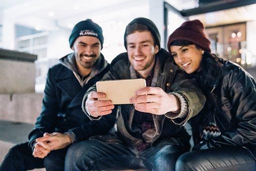 smartphone kamera selfie