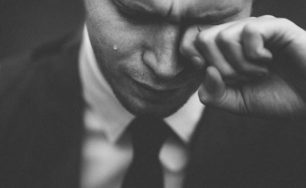 人, 男, 泣く, 涙, 新郎