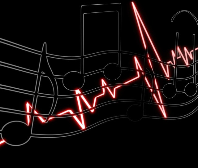 Music Wallpaper Heartbeat Melody Musical Note